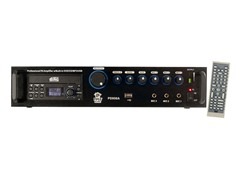 Pro PA Amplifier with DVD/CD/MP3/USB