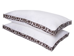 Giraffe Down Alternative Pillows-King- 2pk