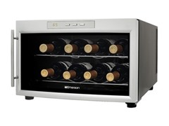 Emerson 8 Bottle Wine Cooler Silver