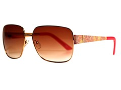 Dahlia Sunglasses, Rose Gold/Pink