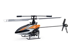 "Riviera 2.4Ghz 10"" F47 4CH Orange R/C Helicopter"