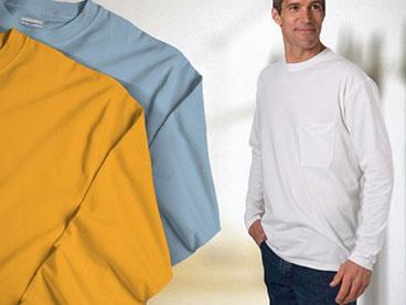 Zorrel Men's 3-Pack LS T-Shirts