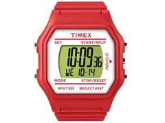 Timex Unisex Digitals Jumbo Watch - Red