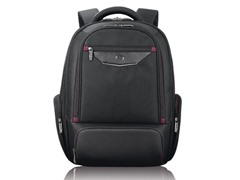 "Executive 17.3"" Backpack - Black/Burgundy"