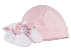 Baby Deer Girl Hat Set