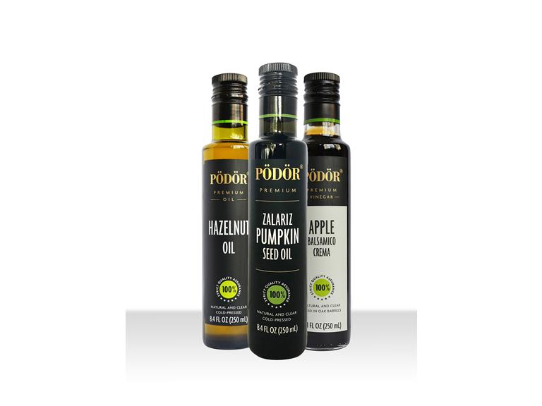 Pödör premium Oils and Vinegar