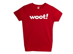 Woot! Kids' T-Shirt - Red