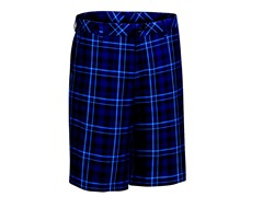 Ashworth Madras Flat Shorts - Navy/Ash