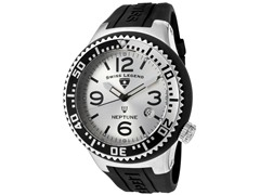 Men's Neptune Watch - Black/Silver