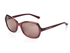 Red Sunglasses w/ Plum Lens