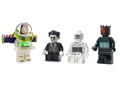 LEGO Mini Figure Alarm Clocks 4-Choices