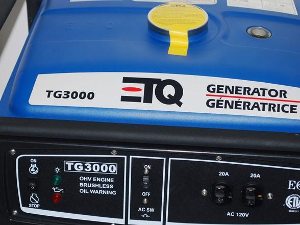 Etq 3 000 watt gas portable generator - Is it bad to run a generator out of gas ...