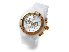 White/Gold Unisex Cruise Watch