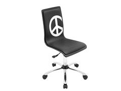 Lumisource Printed Peace Office Chair