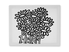 Daisy Flowers Coloring Canvas
