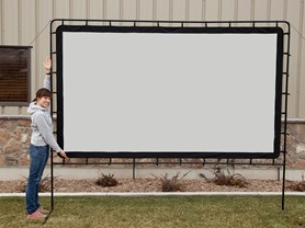 Camp Chef 120-Inch Indoor/Outdoor Screen