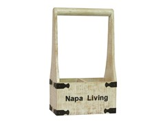 Napa Living Two-Bottle Wine Holder