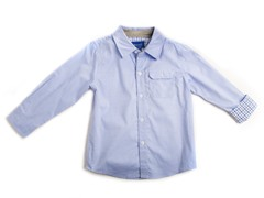 Oxford Shirt - Blue (2T-4T)