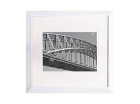 Mode Wood Frame 11x11 White