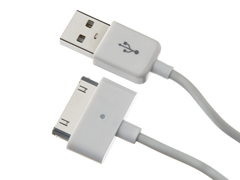 Aleratec Charge-Glo 30-pin Sync Cable