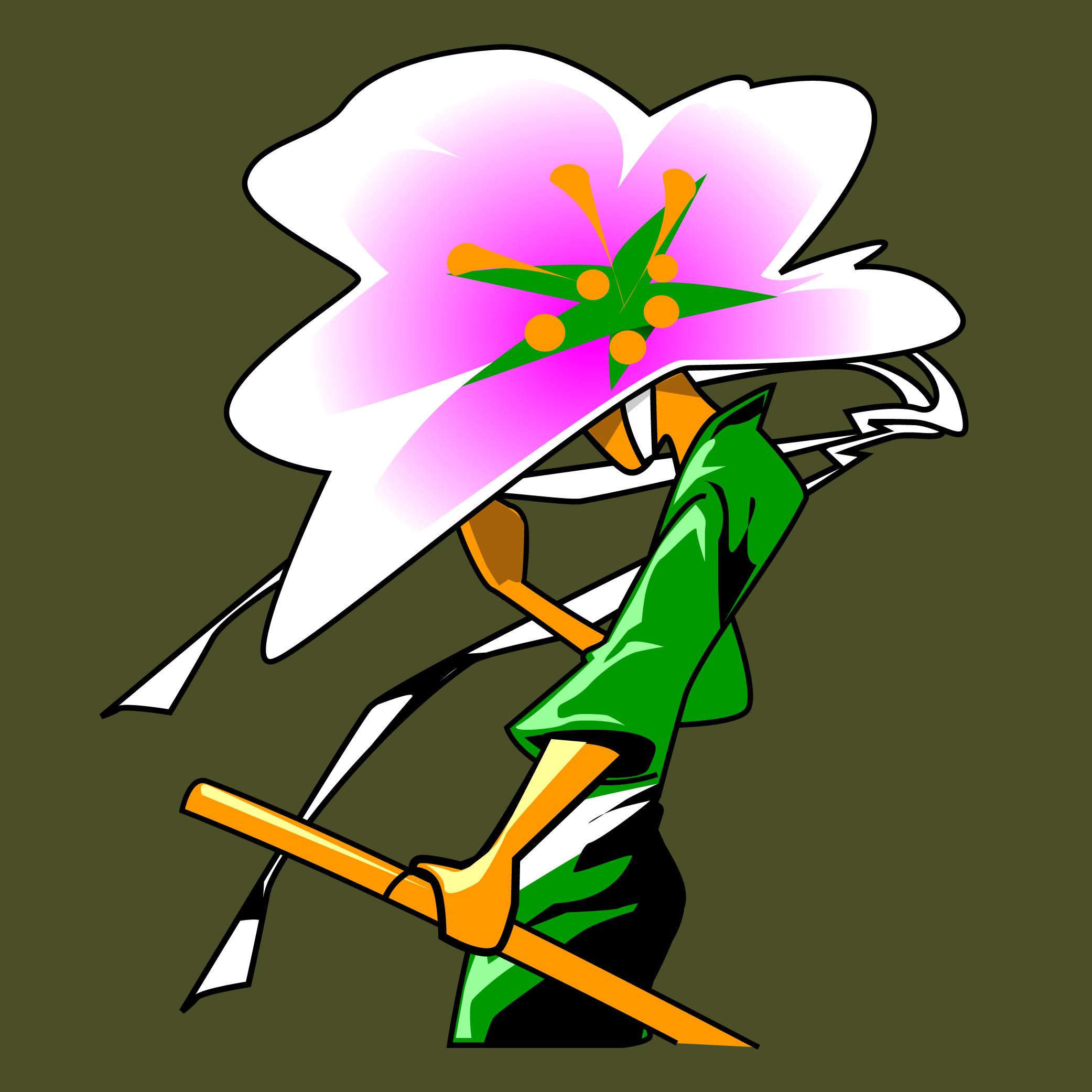 Cherry Blossom Ronin