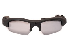 720p HD Action Cam Sunglasses - Black