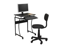 2pc Desk and Chair Set