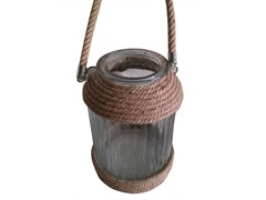Candle Holder w/Rope - Large