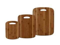 3 Piece Stripe Cutting Board Set