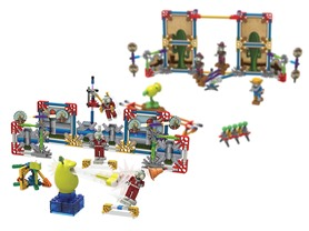 2-Pack of K'NEX Plants Vs Zombies Building Set