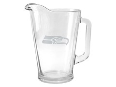 Seahawks Satin Etched Pitcher