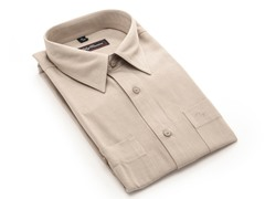 Oleg Cassini Men's Dress Shirt, Light Grey