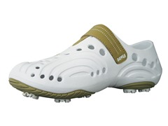 Women's Golf Spirit Shoes - White/Tan