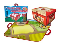 Farmland Toy Box Playset