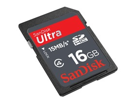 SanDisk Ultra 16GB Class 4 SDHC Card