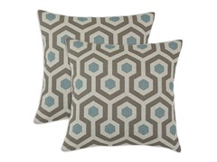 Magna 17x17 Pillows - Cadet - Set of 2