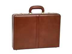 Reagan Leather Attaché Case