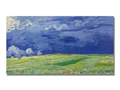 Van Gogh Wheatfields under Thundercloud (2 Sizes)