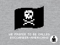 Buccaneer-Americans Pullover Hoodie
