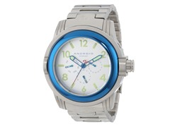 Decoy Swiss Quartz Watch, Multi Silver