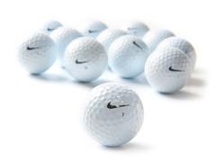 Nike One Black Golf Balls, 12-pk