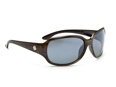 Optic Nerve Luna Polarized, Smoke/Wood
