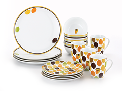 Little Hoot 16-Pc Dinnerware Set