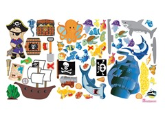 Peel & Play Combo Set - Ocean/Pirate
