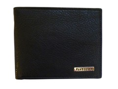 Van Heusen Leather BiFold Wallet, Black