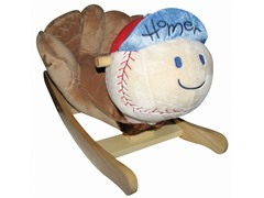 Homer Baseball Musical Rocker