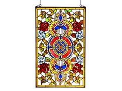 Victorian Window Panel/ Suncatcher