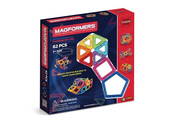 Magformers 62-Piece Magnetic Construction Set 16efe51a-286d-405e-92f5-7c3be5bfb07e