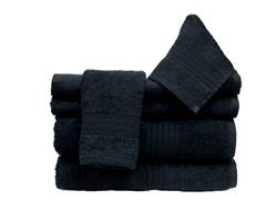 6Pc Towel Set-Onyx