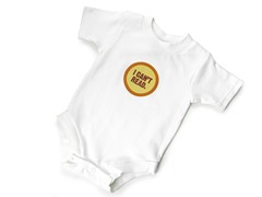 "Wry Baby Bodysuit - ""I Can't Read"""